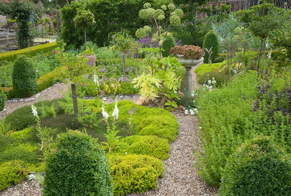 Kitchen Garden at Hindringham, Norfolk